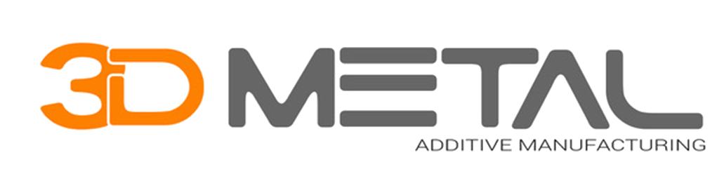 3d metal - logo